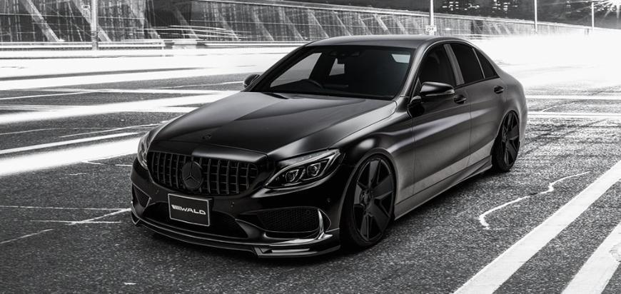 Этот Mercedes-Benz C-Class выглядит очень круто!