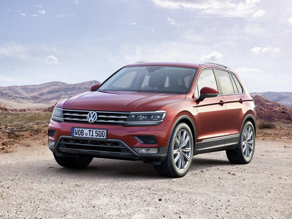 Новый VW Tiguan вначале года стал самым продаваемым SUV вевропейских странах
