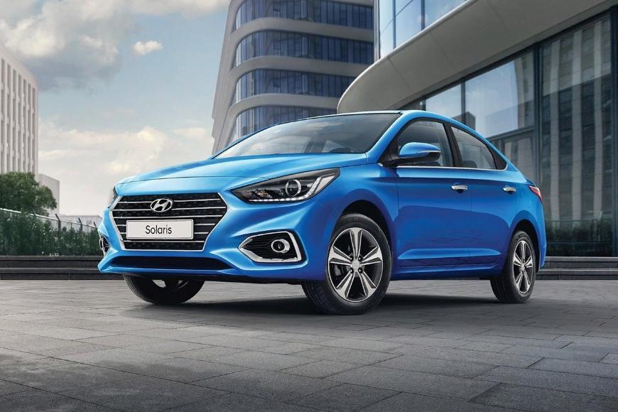 В сентябре седан Hyundai Solaris вернул себе звание лидера рынка Санкт-Петербурга
