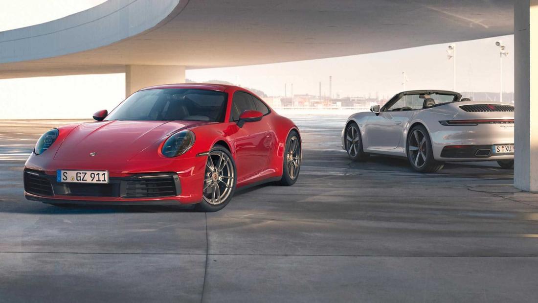 Новые версии Porsche Carrera 4 станут всесезонными спорткарами