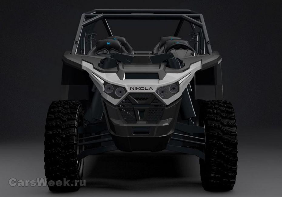 Nikola Motors разрабатывает мощнейший электрический мотовездеход