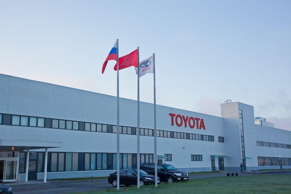 Петербургский завод Toyota уходит вдвухнедельный отпуск