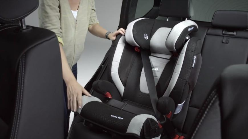 В Роскачестве назвали самое безопасное место для ребенка в авто