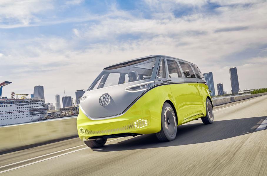 Volkswagen определился с названием полностью электрического фургона новой линейки
