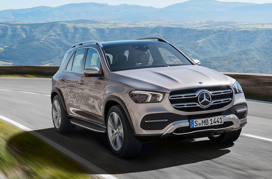 Mercedes назвал российскую стоимость нового GLE ссамым мощным дизелем