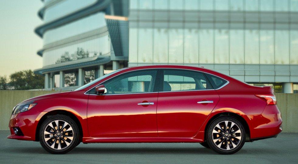 Стартовали продажи нового седана Ниссан Sentra 2018 модельного года