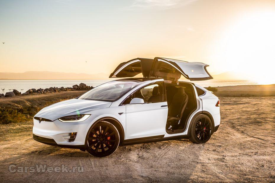 Tesla снизила цены наModel X перед выходом Model 3