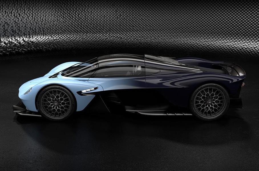 Aston Martin впервые опубликовала серийное
