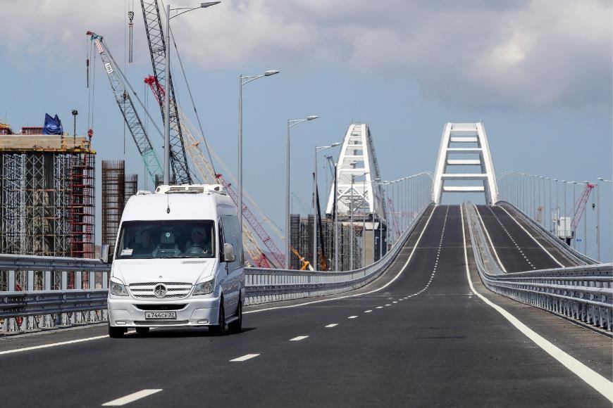 Крымский мост побил новый рекорд
