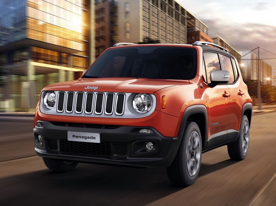 Появились фото обновлённого Jeep Renegade