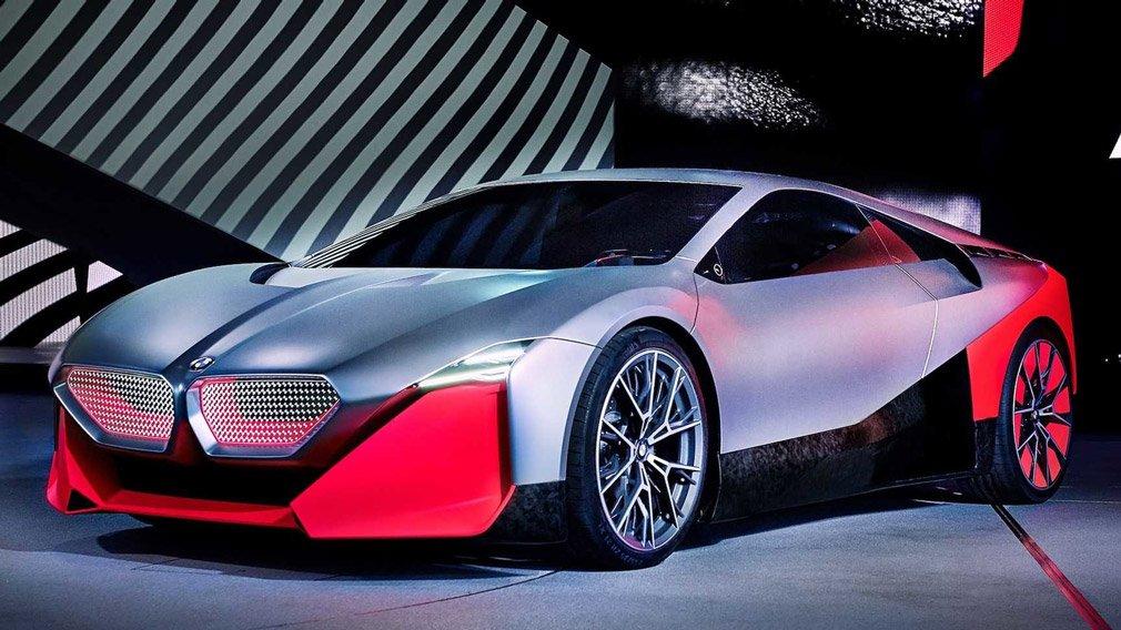 BMW Vision M Next представлен на Франкфуртском автосалоне