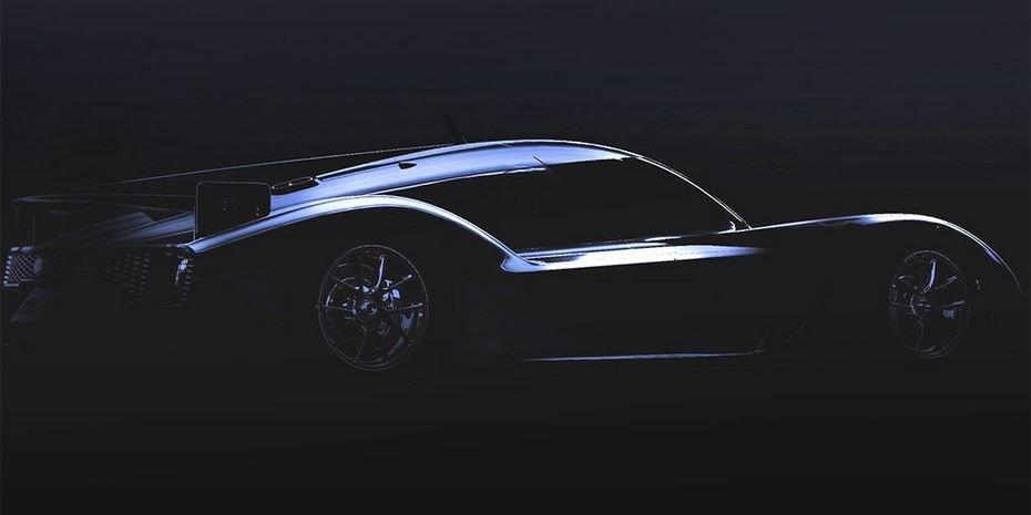 Тойота обнародовала 1-ый тизер спорткараGR Super Sport Concept