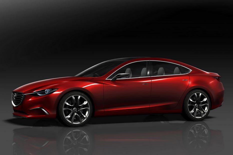 Седан Mazda6 обновленного поколения переведут назадний привод