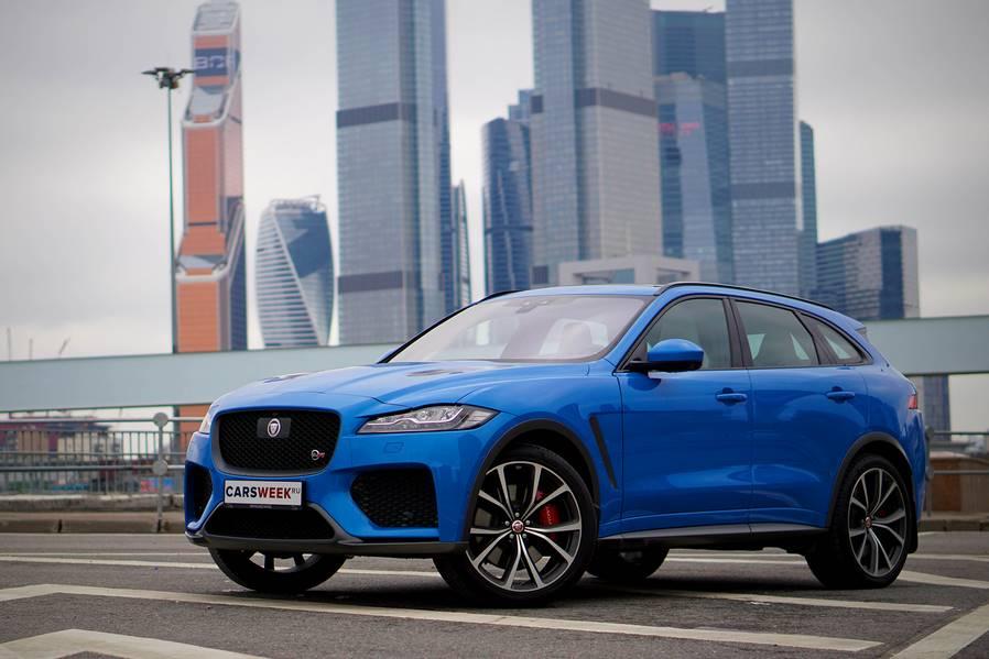 Тест-драйв дикого Jaguar F-Pace SVR