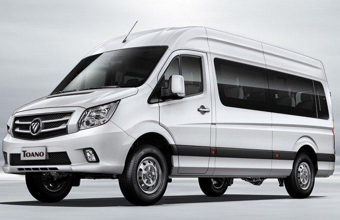 Foton предложит россиянам микроавтобус иминивэн