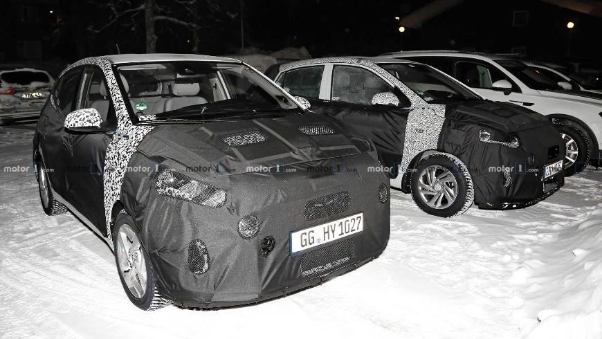 Hyundai i 10 нового поколения появился на шпионских снимках