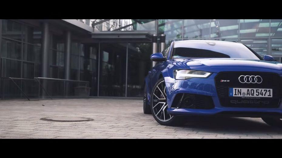 Ауди RS6 Avant Performance Nogaro Edition «упакован» с705-сильным агрегатом