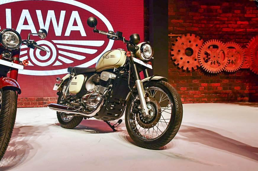 Электрический мотоцикл Jawa создают в Индии