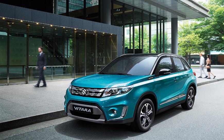 Кроссовер Suzuki Vitara удержал звание российского бестселлера марки