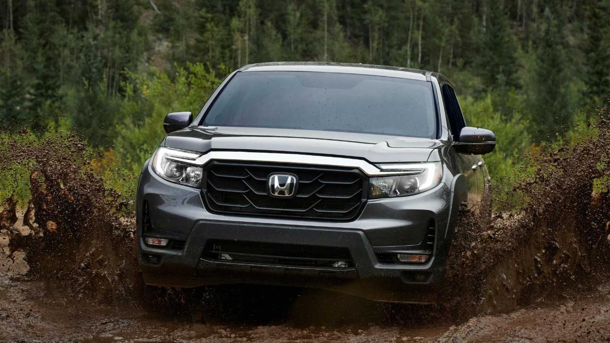 Стали известны цены на пикап Honda Ridgeline 2021 года