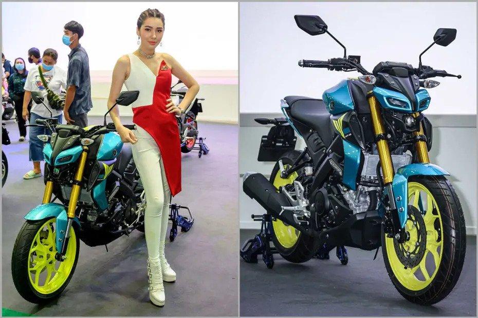 Yamaha представила специальную версию мотоцикла MT-15
