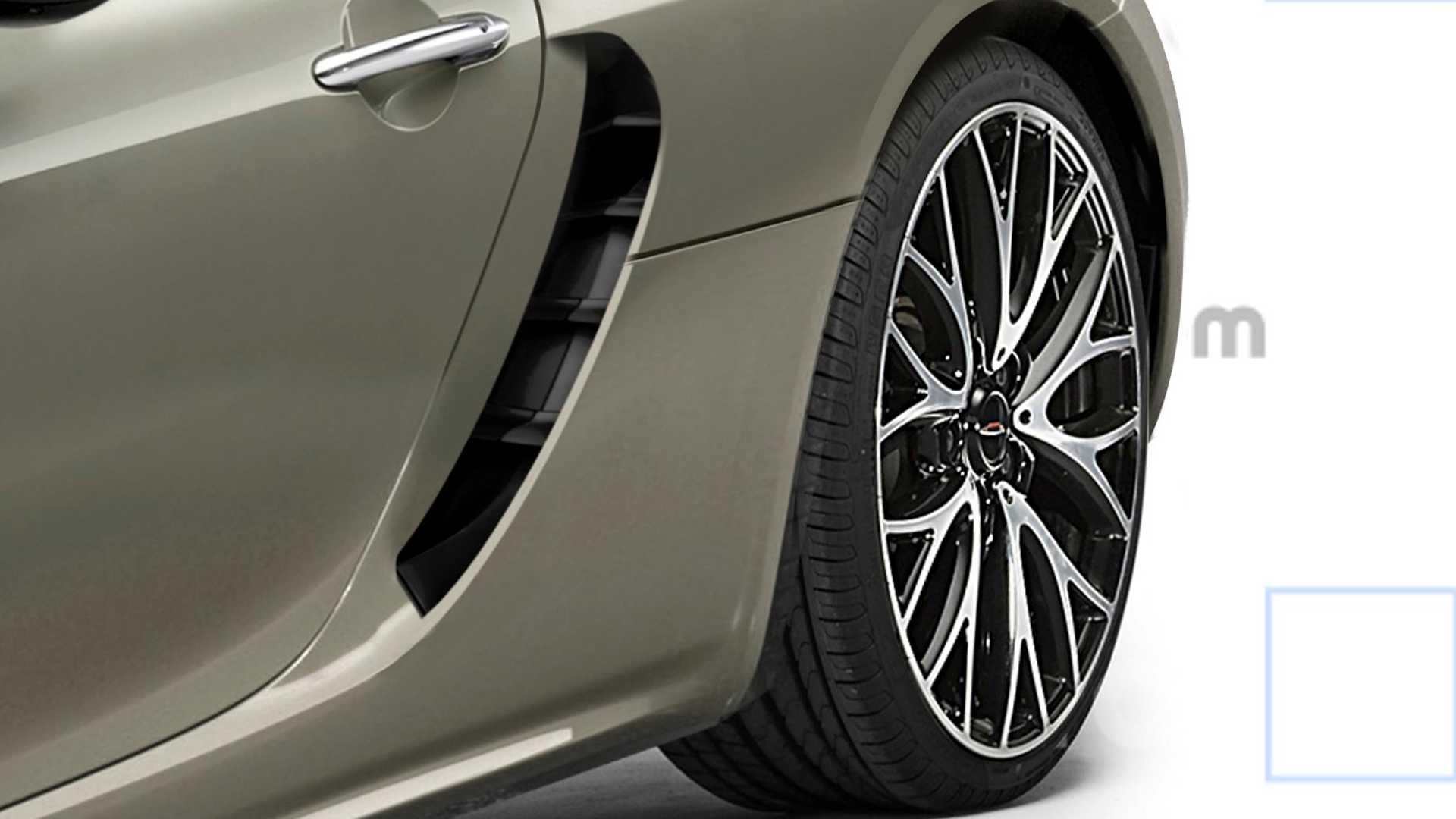 Каким будет суперкар Mini со средним расположением двигателя?