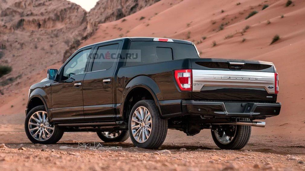 В сети появились изображения обновленного Ford F-150