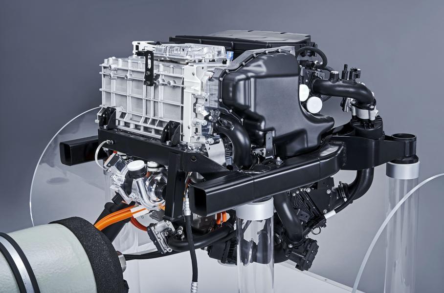 BMW и Toyota создали новый силовой агрегат на водороде