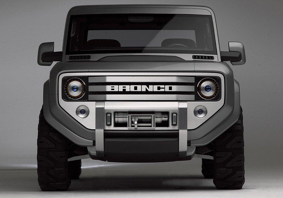 Форд Bronco возродят в 2020г.
