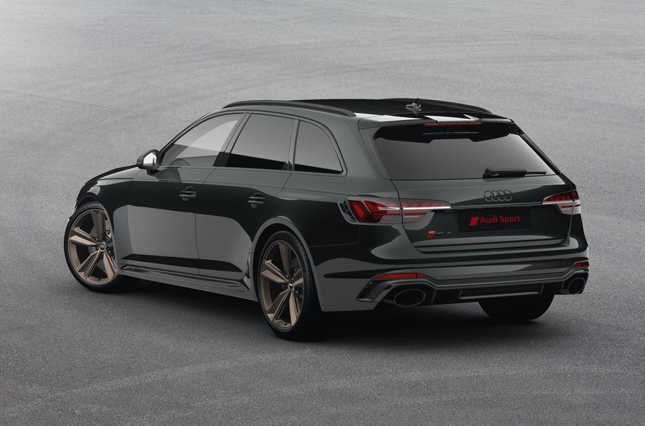 Audi RS 4 Avant обзавелся «бронзовой» специальной версией
