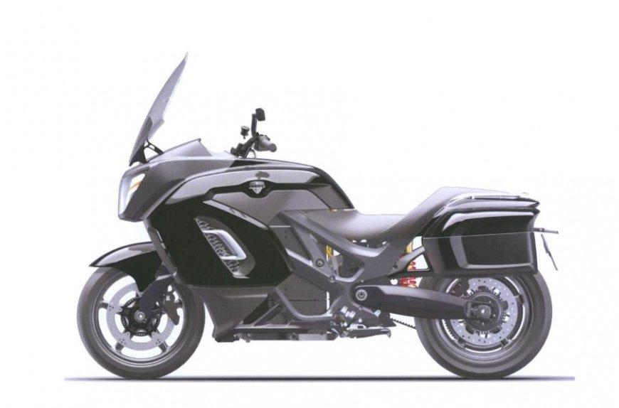 Появились первые изображения электрического мотоцикла Aurus