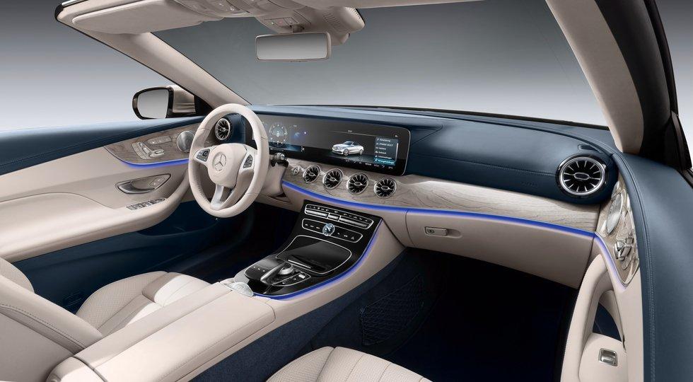 Benz E-Class Cabriolet представят на автомобильном салоне вЖеневе
