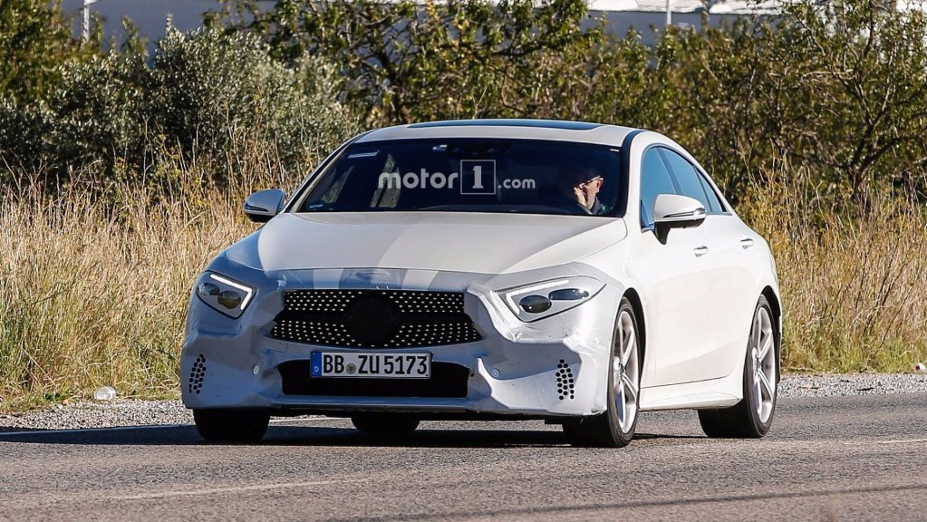 Benz представит новое купе CLS вЛос-Анджелесе
