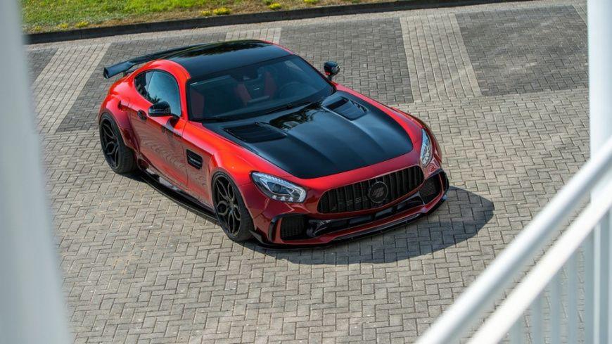 Ателье Prior Design представило Mercedes-AMGGT Sстюнинг-пакетом
