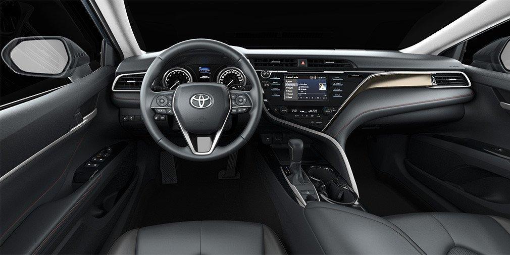 Российские дилеры получили спортивную Toyota Camry S-Edition