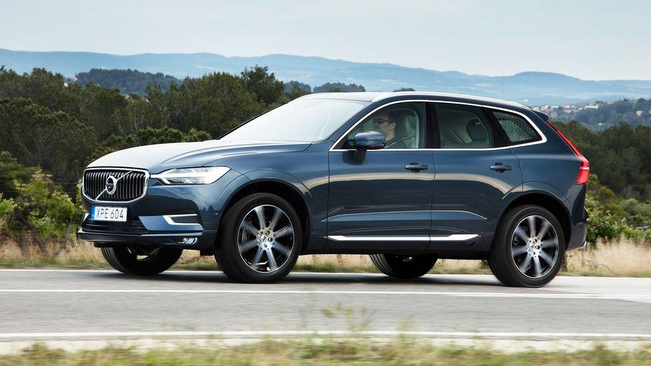 Стоимость нового внедорожника Volvo XC60 составит от3 415 000 до5 553 000 рублей