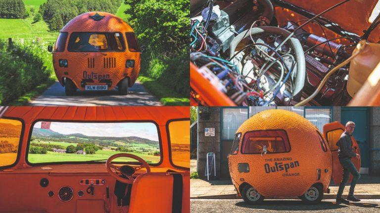 """Британская компания """"Mini"""" показала """"апельсин"""" на колёсах"""