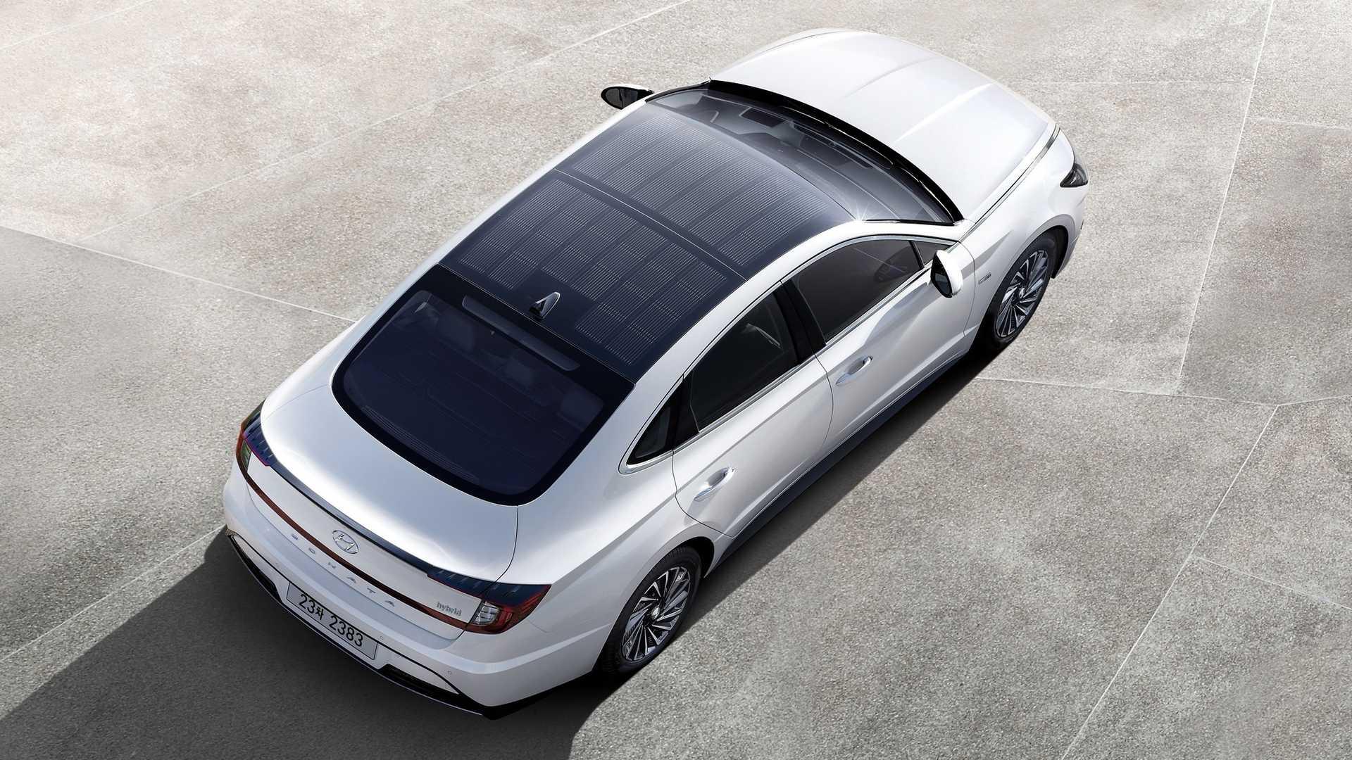 Hyundai подробно рассказал о гибридном седане Sonata 2020