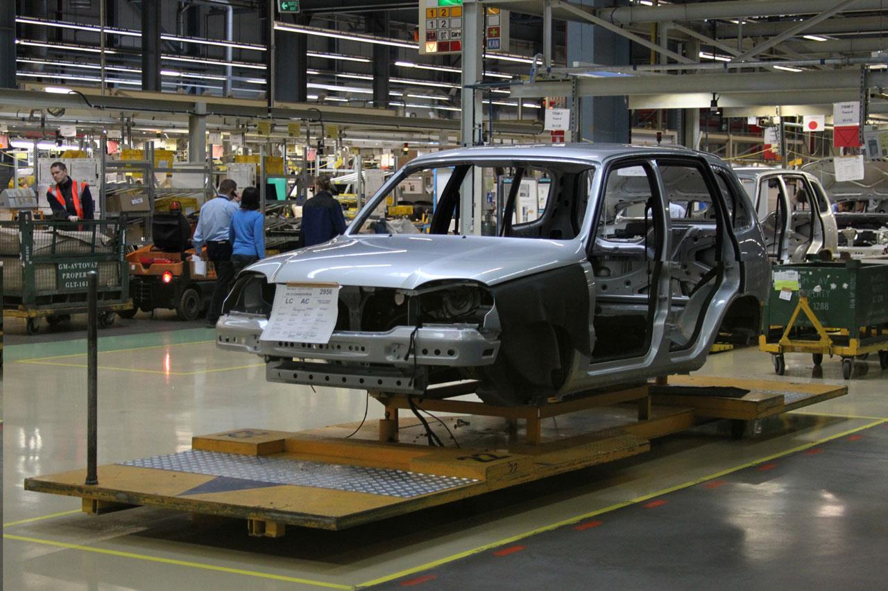 На предприятии «АвтоВАЗ» рассказали про сборку Chevrolet Niva