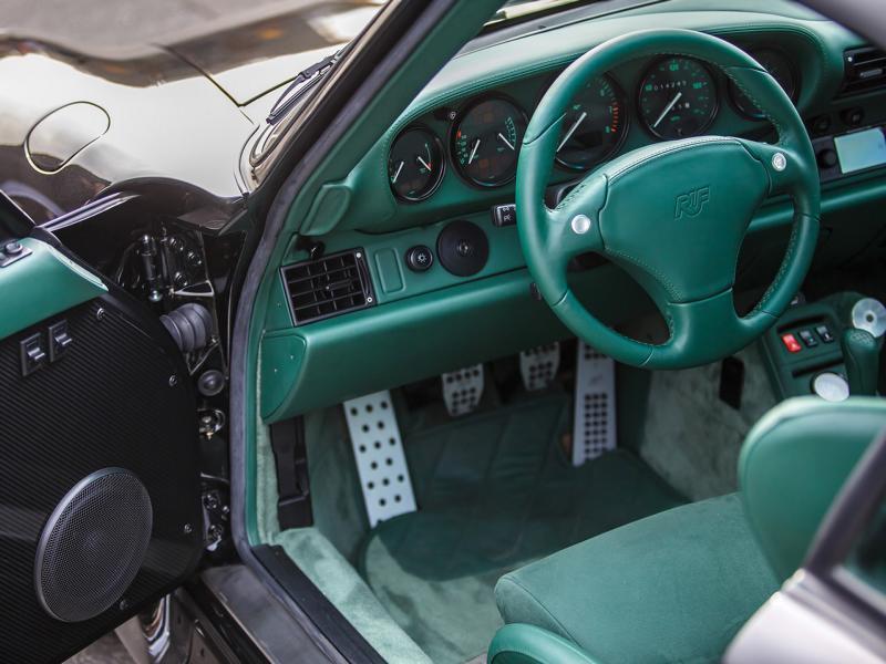Тюнингованый Porsche 911 от ателье RUF Automobile продадут на аукционе