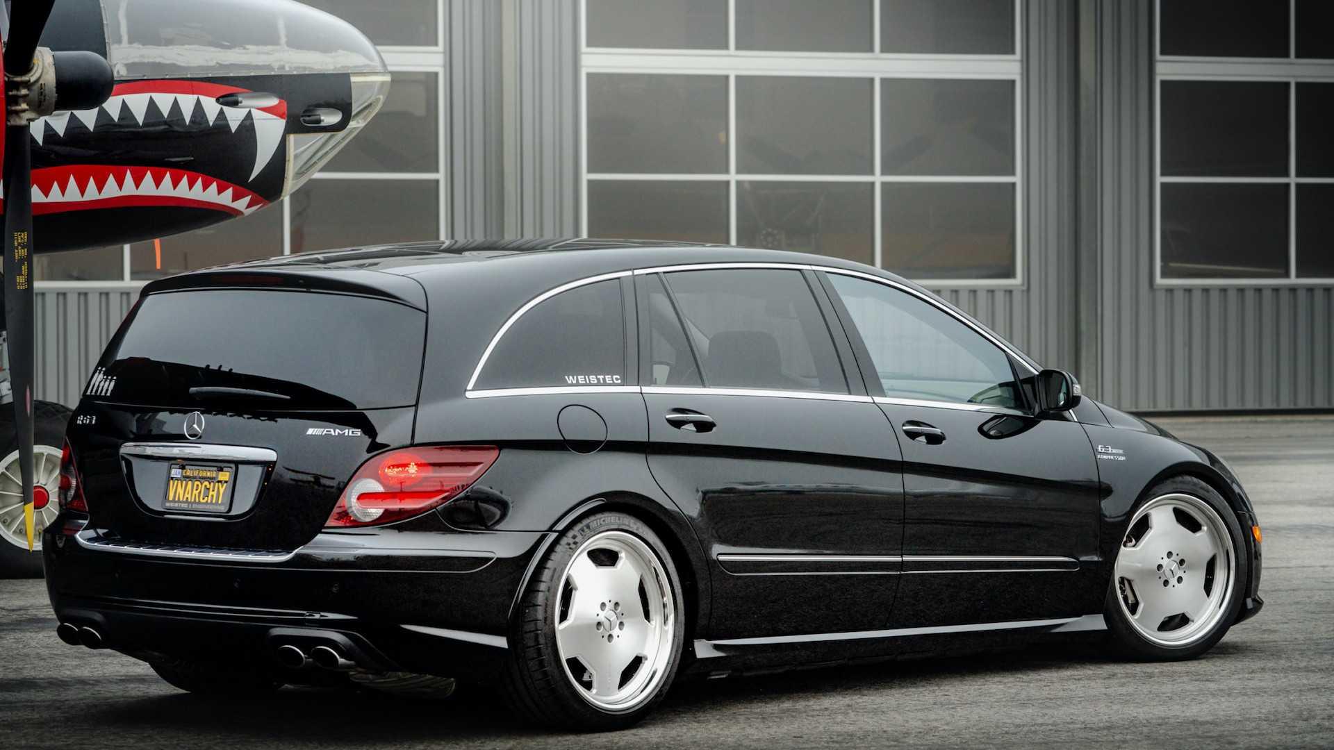 Mercedes R63 AMG или это невероятно мощный микроавтобус на 700 л.с.