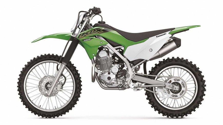 Kawasaki представила обновленную линейку внедорожных мотоциклов