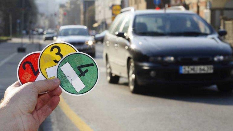 На электрокары и авто на газу не будут распространяться запрещающие знаки