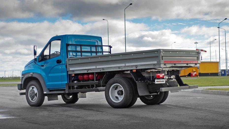 Новый газон грузовик фото