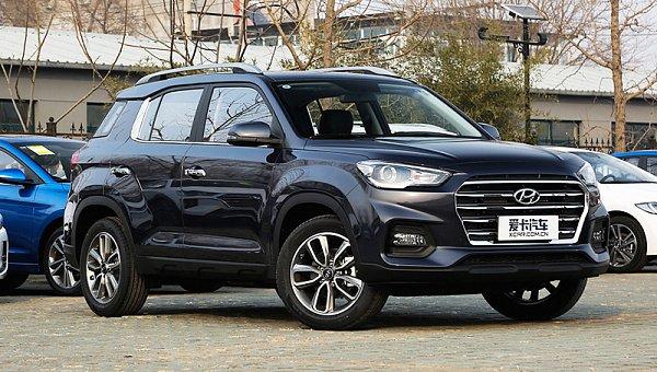 Удешевленный кроссовер Hyundai ix35 ставит очередной рекорд продаж