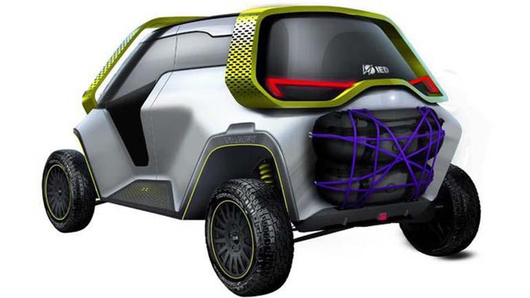Представлен компактный шестиместный электрокроссовер IED Tracy