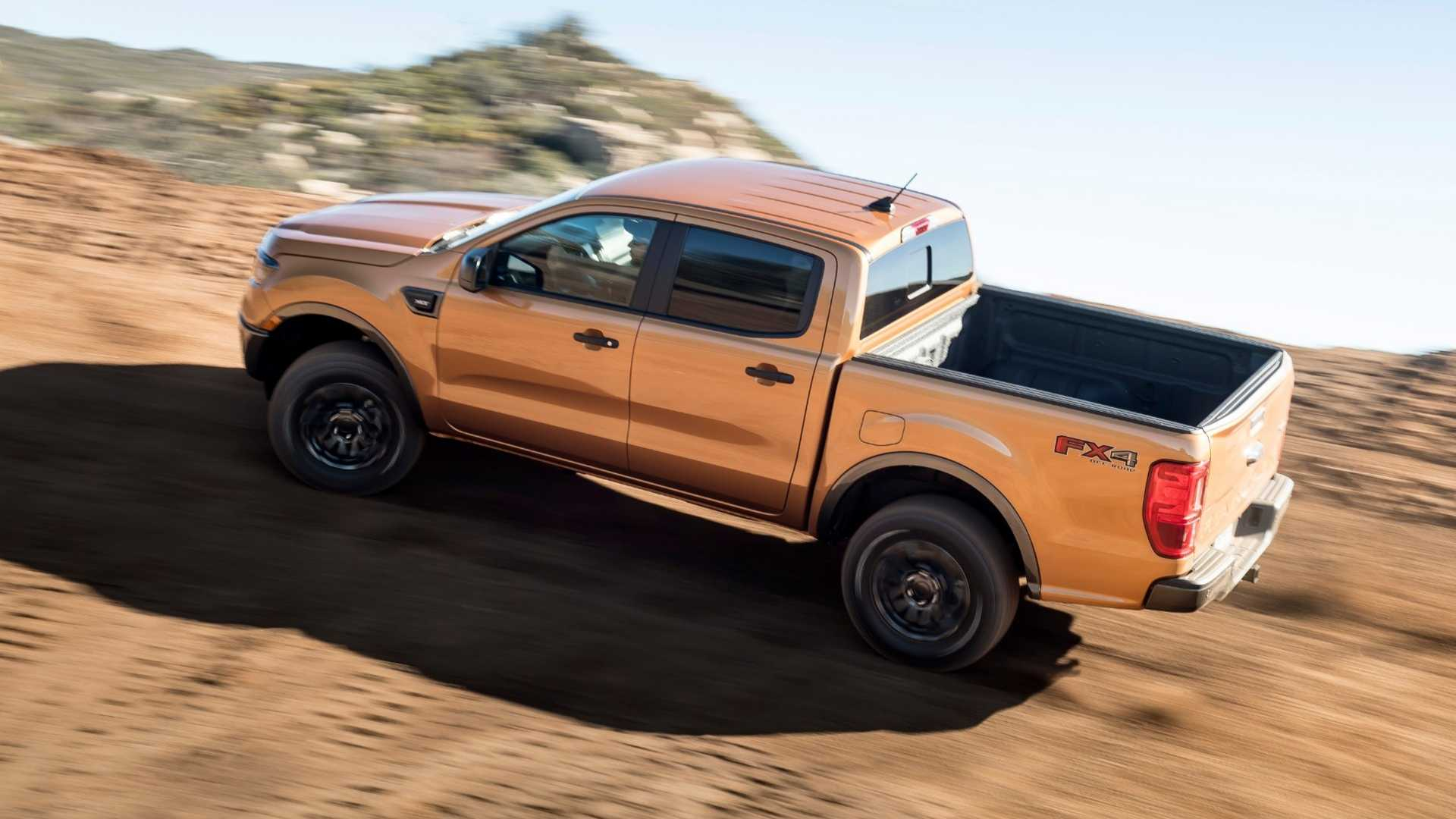 Ford Ranger от ателье Ford Performance или официальный тюнинг для пикапа
