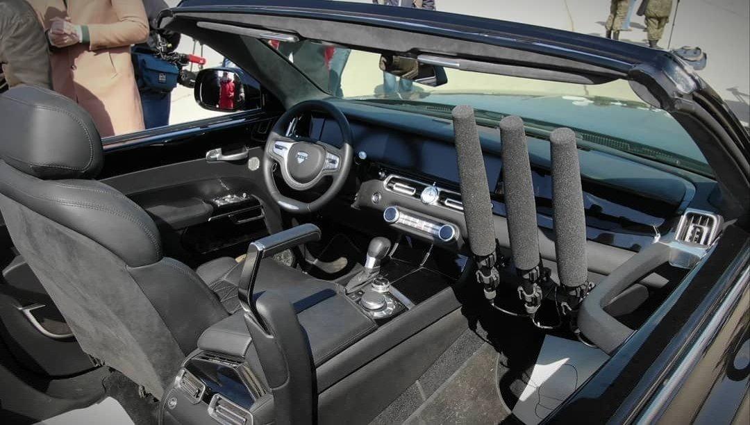 Еще один город РФ получит кабриолеты Aurus для парада Победы