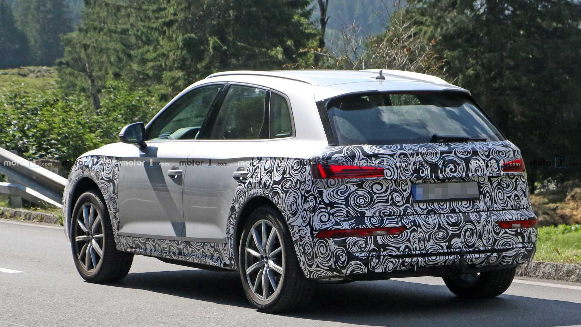 Audi представит купеобразную версию обновленного кроссовера Q5