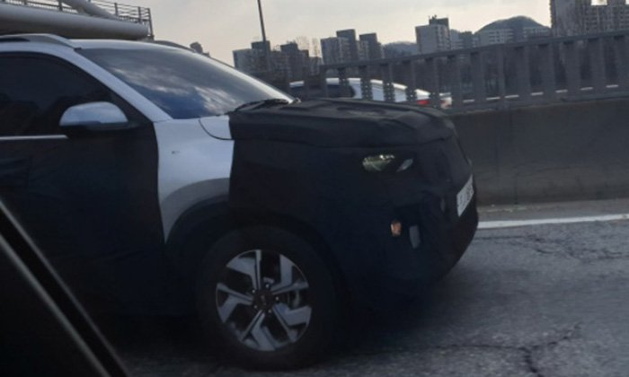 Кроссовер KIA Sonet заметили на дорожных испытаниях